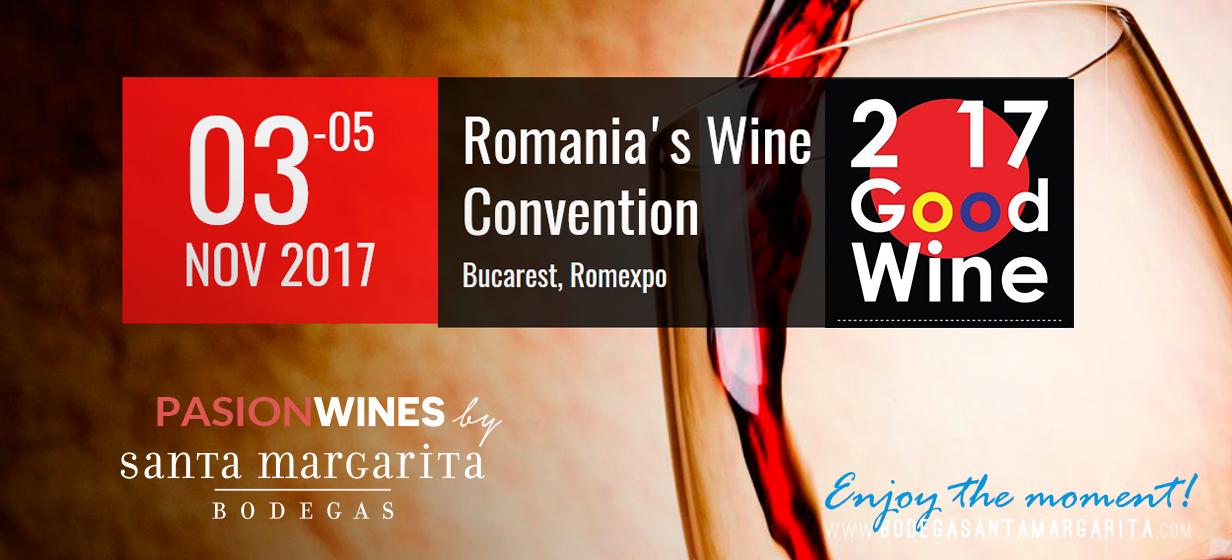 Bodega Santa Margarita participa Romania's Wine Convention - 2017 Good Wine Anuga, la feria alimentaria más importante de Europa, con sus vinos de colores Pasion Wines - Pasion Blue y Euforia Frizzante (azul)