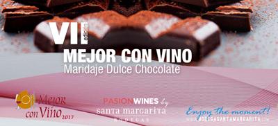 VII Mejor con vino - Maridaje dulce con chocolate - Bodega Santa Margarita